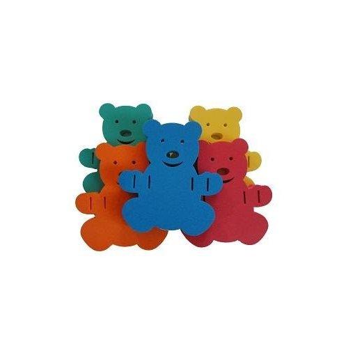 Plavecká deska Baby Medvídek 280 x 300 x 38 mm