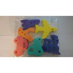 Hračky do vody Dopravní prostředky - sada 27 mm