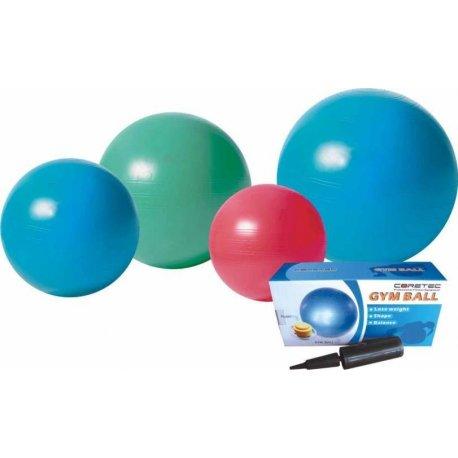 Velký cvičební míč v odolném provedení, průměr 65 cm.