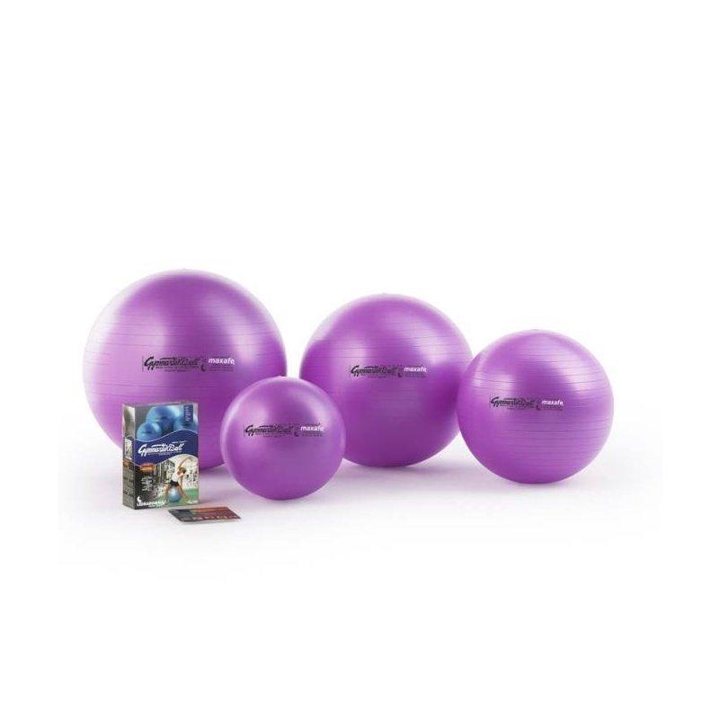 Gymnastický míč MAXAFE 42 cm - nafukovací míč pro posilování svalů okolo páteře