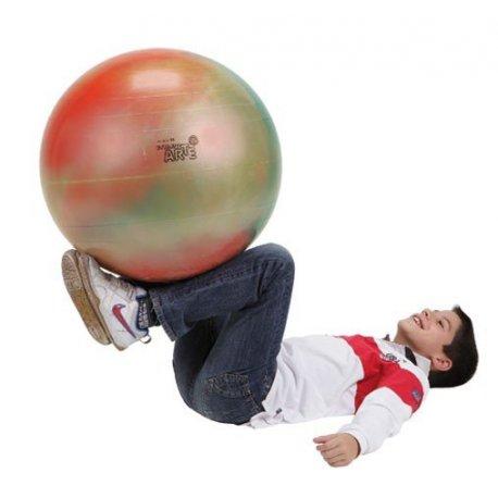 Gymnastický míč s originální barvou pro zábavné cvičení