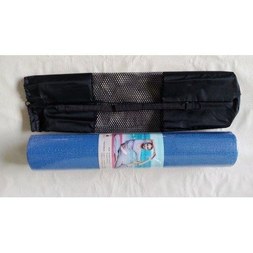 Yoga cvičební podložka 6 mm bez obalu, s obalem - DOPRODEJ