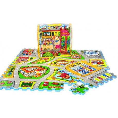 City map puzzle pěnové TM011