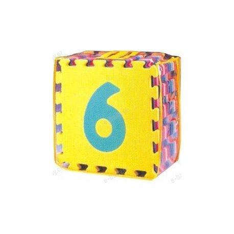 Čísla 0-9 desky 30x30 , 10ks