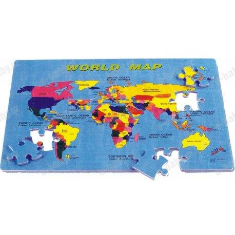 Mapa světa Eva podložka