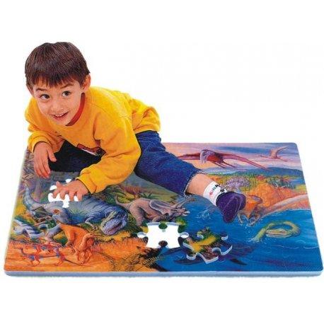 Dinosauři puzzle pěnová podložka