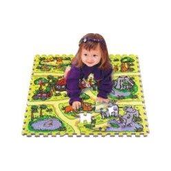 Safari skládačka puzzle pěnové, podložka TM02