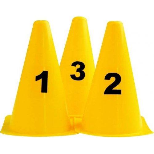 Set kuželů s číslicemi 0 - 9