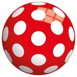Dětský míč s puntíky 13 cm - JOHN