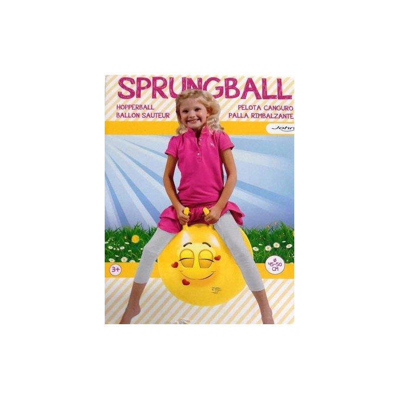 Hop skákací míč 45-50 cm - veselý obličej JOHN