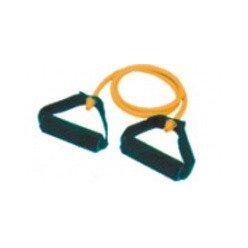 Expander cvičební guma tubing s rukovítky posilovací - různé obtížnosti