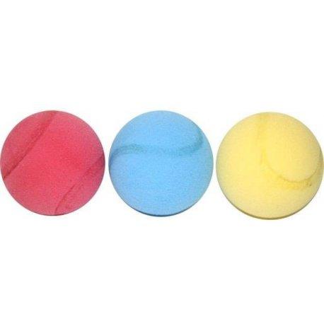 Set míčků 70mm 3ks porezní s prolisem