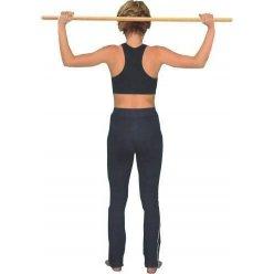 Tyč gymnastická dřevo 100 / 2,5 cm