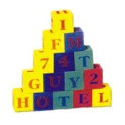 Kostky abeceda + čísla EVA pěna FM924