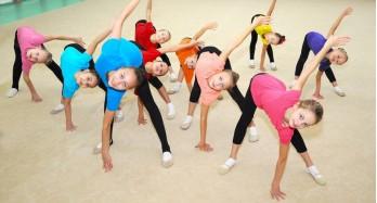 Aerobické cvičení s dětmi