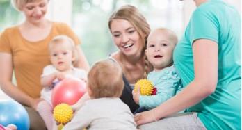 Proč cvičit s dětmi už od narození?